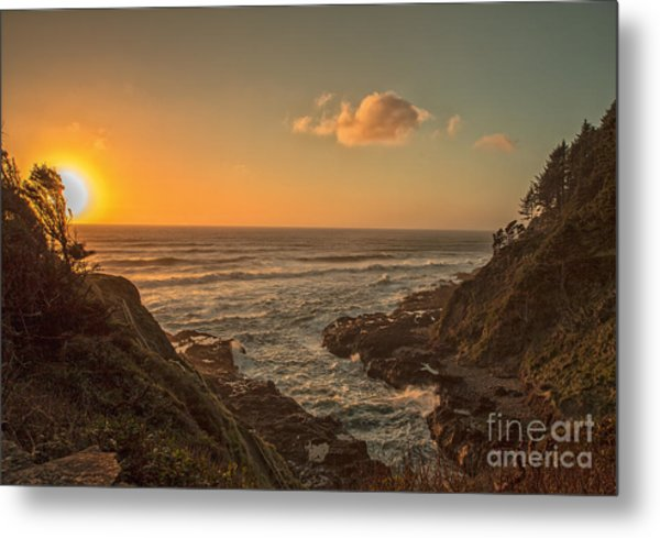 Devils Churn Metal Print