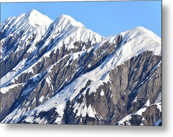 Devils Food With Frosting - Wrangall St. Elias Metal Print
