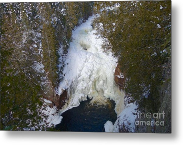 Devil's Kettle Metal Print