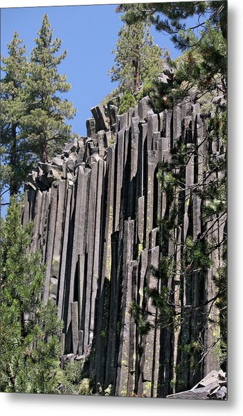 Devils Postpile National Monument - Mammoth Lakes - East California Metal Print