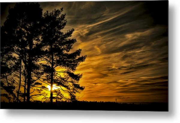 Devils Sunset Metal Print
