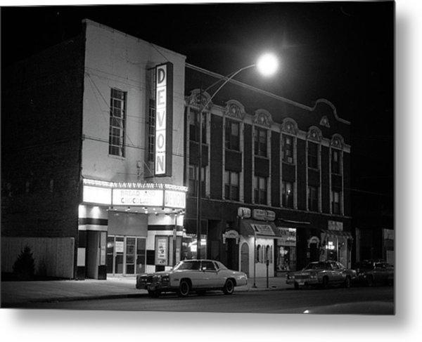 Devon Theatre, 1979 Metal Print