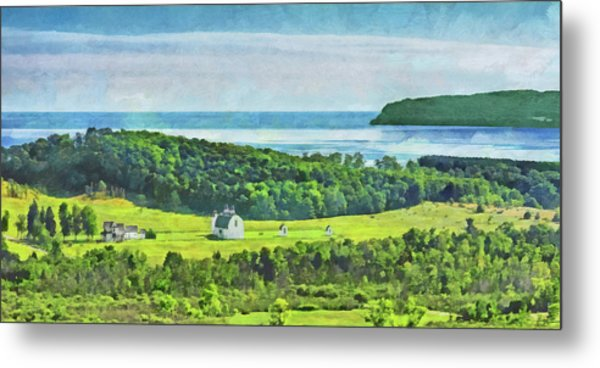 D. H. Day Farmstead At Sleeping Bear Dunes National Lakeshore Metal Print