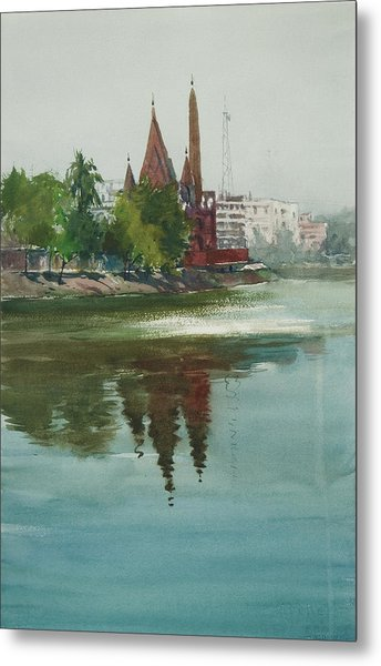 Dhanmondi Lake 04 Metal Print