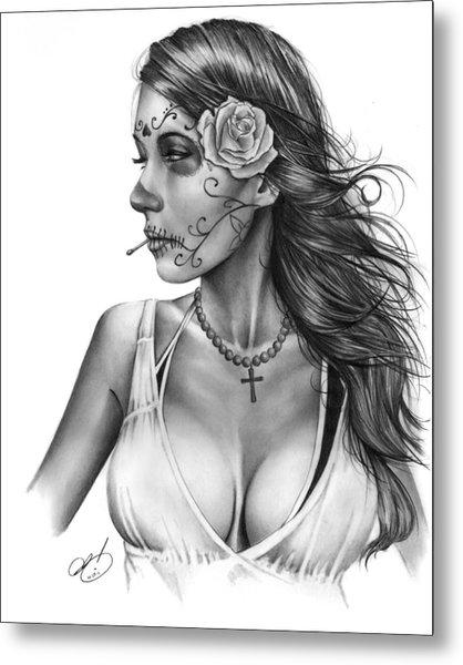 Dia De Los Muertos 1 Metal Print