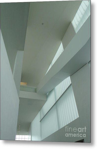 Diagonal Perspective Metal Print by Donna McLarty
