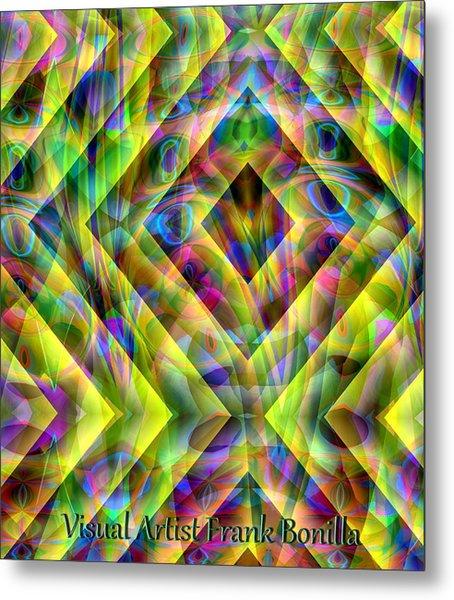 Metal Print featuring the digital art Diamond In The Grass by Visual Artist Frank Bonilla