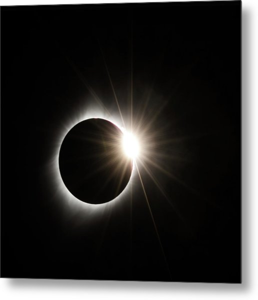 Diamond Ring Metal Print