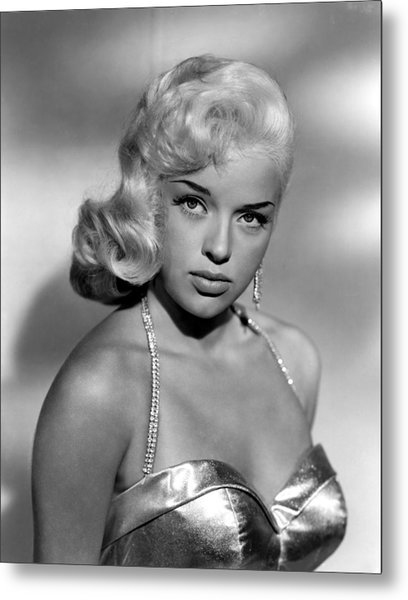 Diana Dors, Universal Pictures Metal Print