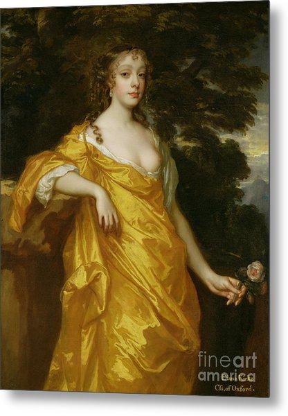 Diana Kirke-later Countess Of Oxford Metal Print