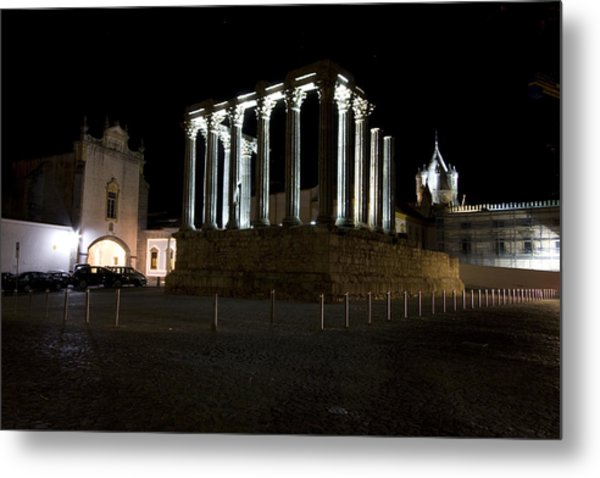Diana Temple Metal Print by Andre Goncalves