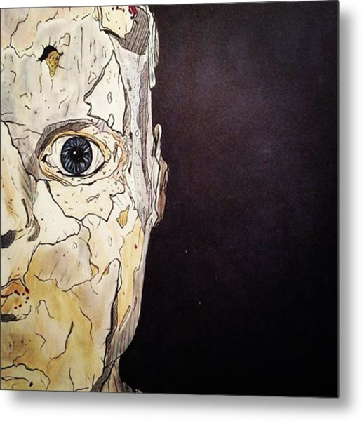 Did You Realize No One Can See Inside Your View Metal Print by Russell Boyle