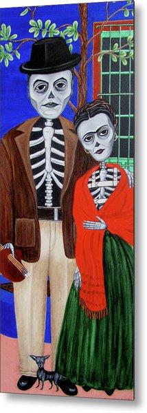 Diego Y Frida Metal Print