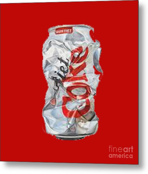 Diet Coke T-shirt Metal Print