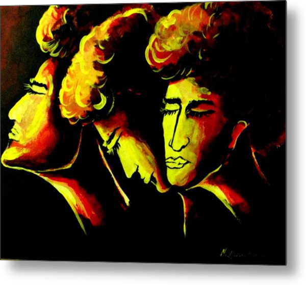Different Moods Metal Print