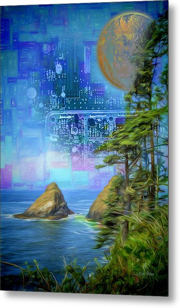 Digital Dream Metal Print