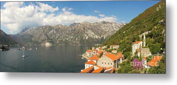 Dinaric Alps And Kotor Bay Metal Print by Matt Tilghman