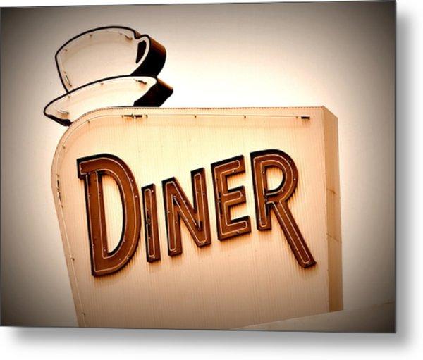 Diner Metal Print
