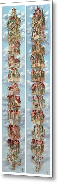 Diptych Air Castles Metal Print