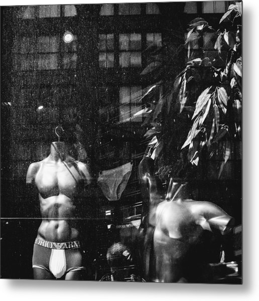 Dirty Mannequins Metal Print by Dylan Murphy