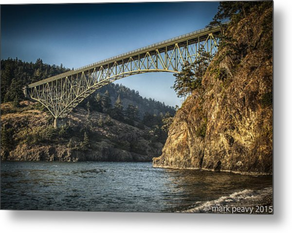 Disappointment Bridge Metal Print
