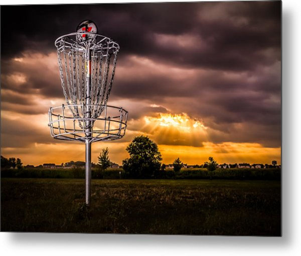 Disc Golf Anyone? Metal Print