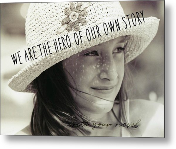 Discover Yourself Quote Metal Print by JAMART Photography