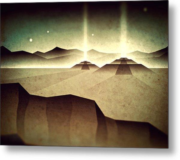 Distant Past Horizon Metal Print