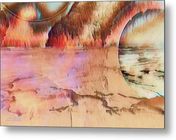Distant Shores Metal Print