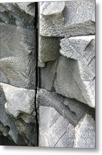 Dividing Lines Metal Print by Donna McLarty
