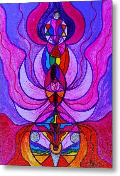 Divine Feminine Activation Metal Print