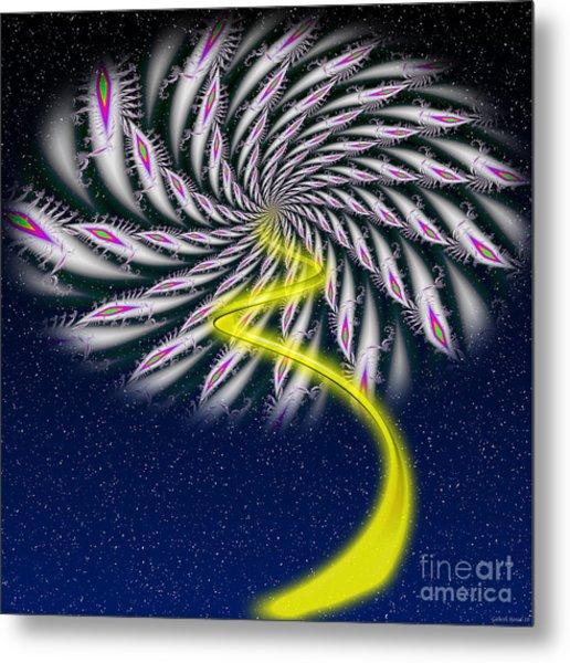 Divine Fireworks Metal Print by Ganesh Barad