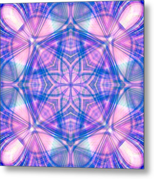Divinely Encircled Metal Print