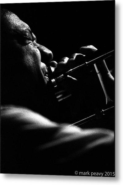 Dixieland Trombone New Orleans Metal Print