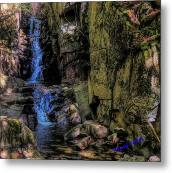 Dixville Notch Flume Brook Metal Print