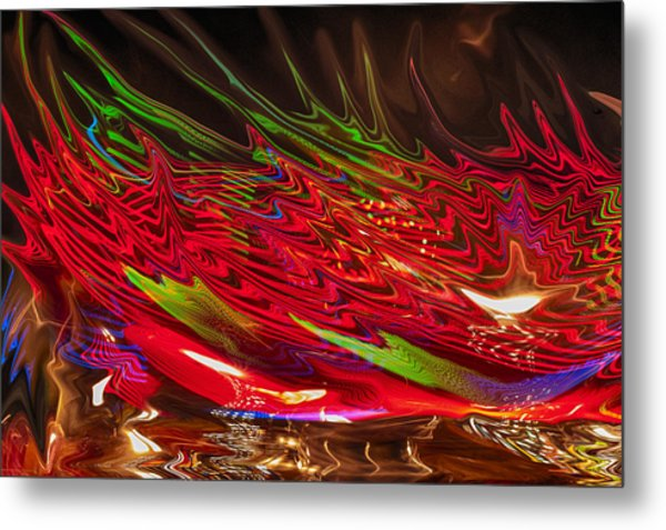 Metal Print featuring the photograph Dizzy by Linda Constant
