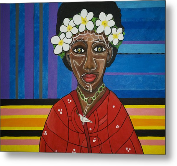 Metal Print featuring the painting Do The Right Thing by Jose Rojas