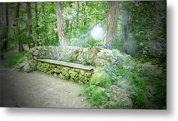 Metal Print featuring the photograph Do You Want To Take A Rest by Bee-Bee Deigner