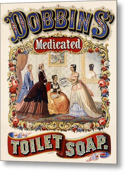Dobbins Medicated Toilet Soap Metal Print