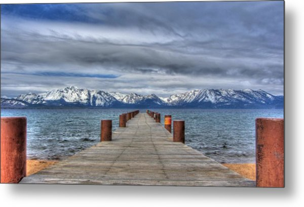 Dock Of Dreams Metal Print