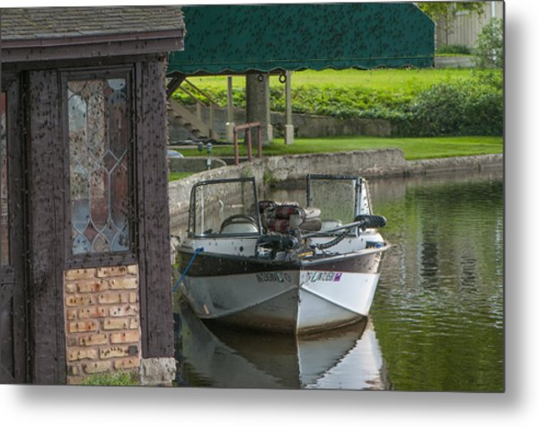 Docking Mayflies Metal Print