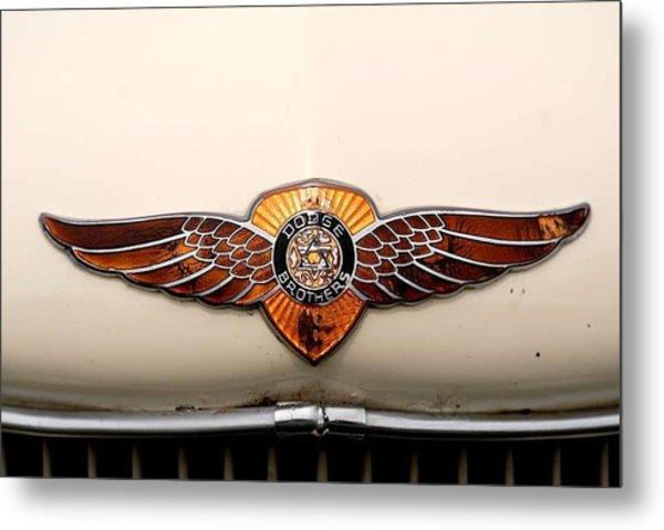Dodge Brothers Emblem Metal Print