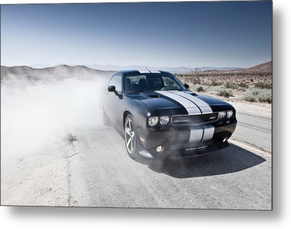 Dodge Challenger Srt8 Metal Print