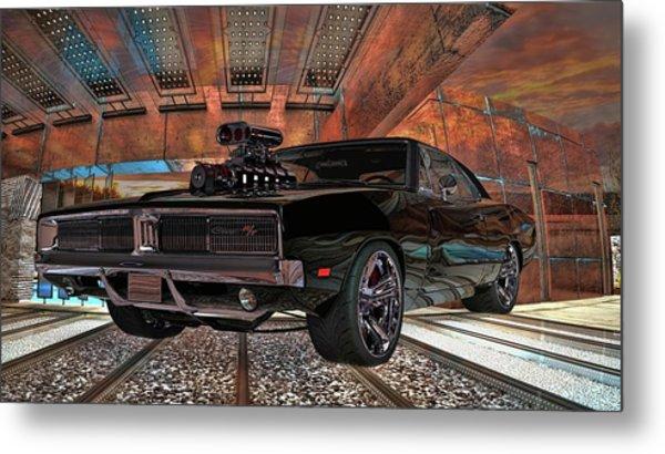 Dodge Charger R/t 1969 Hemi Metal Print