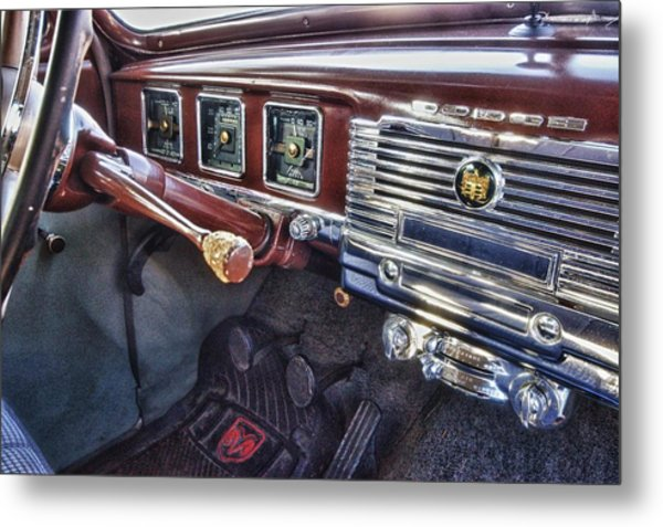 Dodge Dash Metal Print