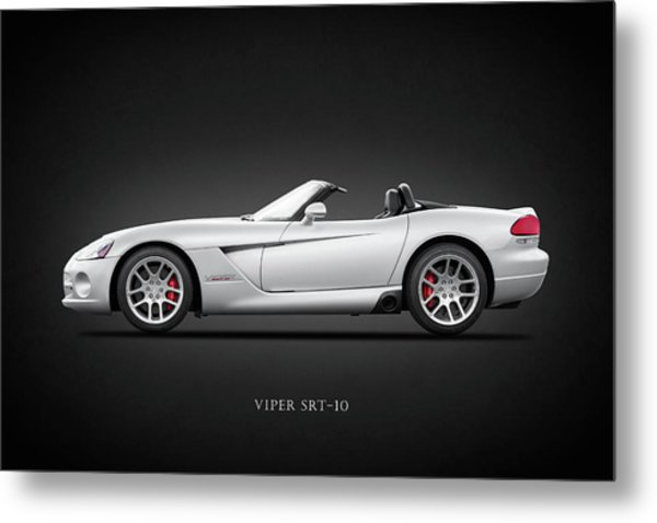 Dodge Viper Srt10 Metal Print