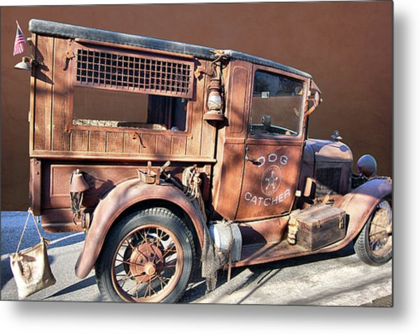 Dog Catcher Metal Print