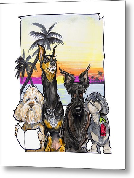Dog Island Getaway Metal Print