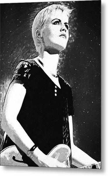 Dolores O Riordan Metal Print