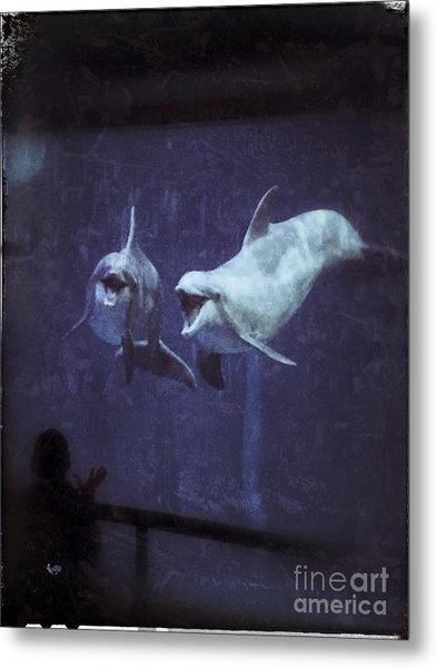 Dolphinspiration Metal Print